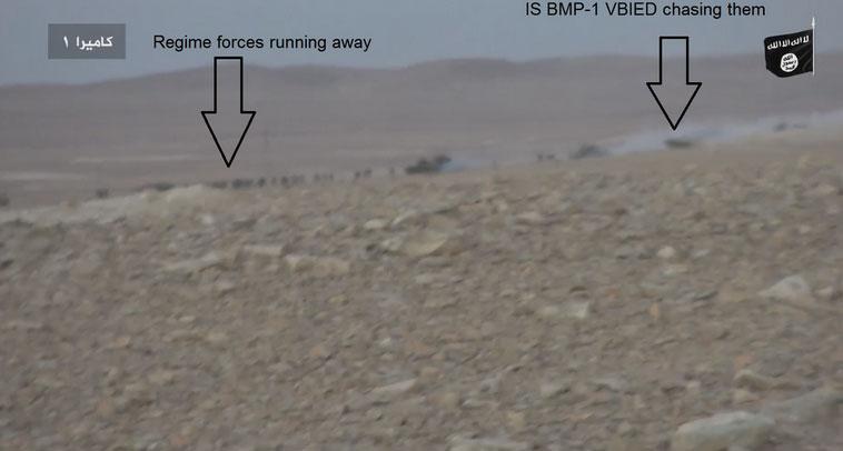 Как наступает сирийская армия в Пальмире?