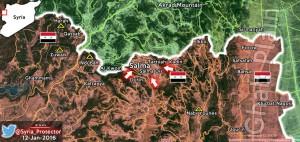 Силы режима Асада при поддержке РФ, заняли стратегический город Сальма в Латакии