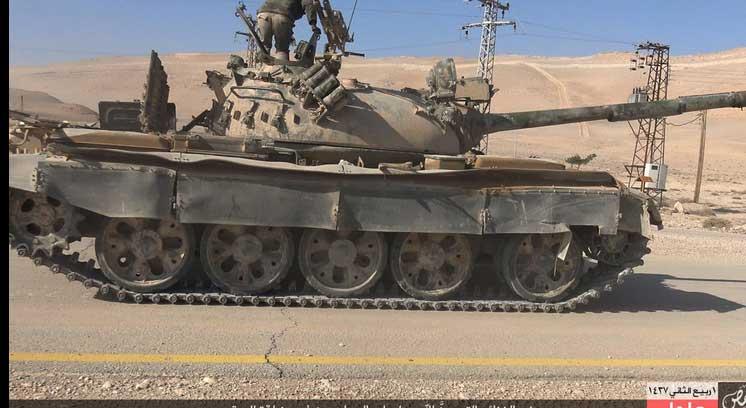Войска Асада понесли очередное поражение в борьбе с ИГИЛ, в районе города Пальмира