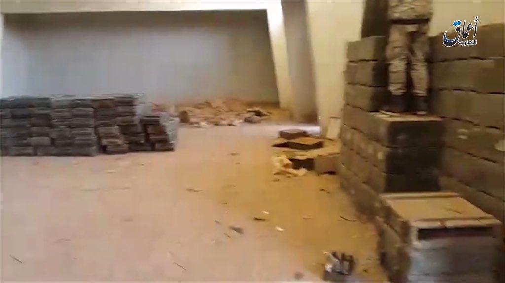 Трофеи ИГИЛ в Дейр-аз-Зор