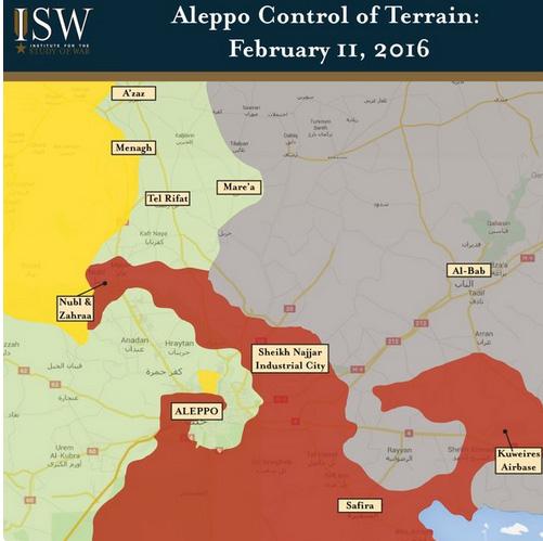 """Бои за """"коридор Алеппо"""", провинция Алеппо, Сирия"""