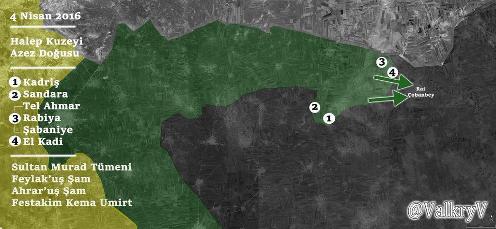 Сирийская оппозиция на границе с Турцией отвоевывает новые территории у ИГИЛ