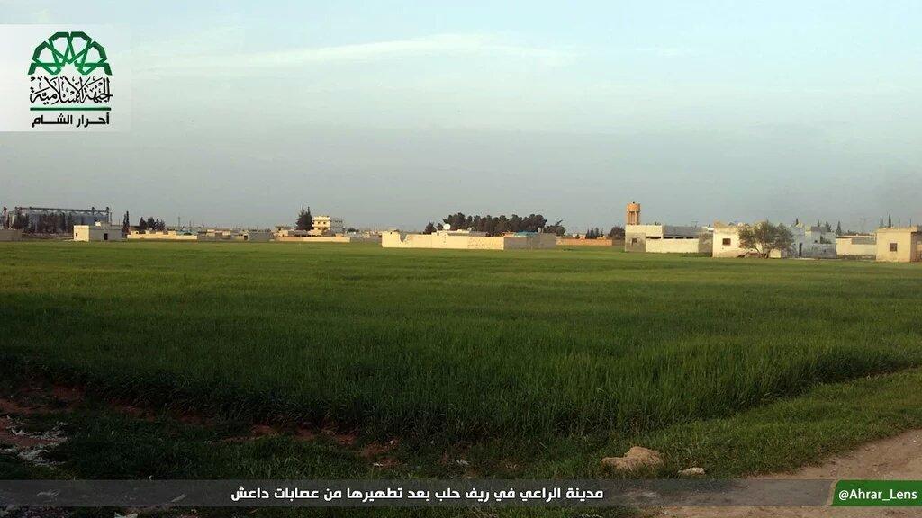 Сирийская оппозиция отбила у ИГИЛ стратегически важный город в Северном Алеппо -Аль Рей