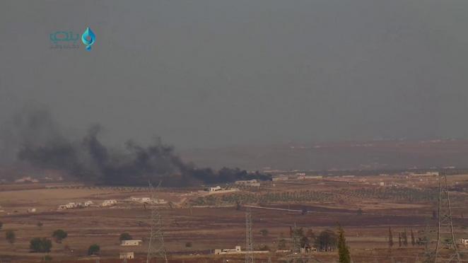 В Южном Алеппо сбит очередной самолет