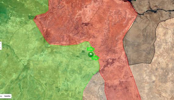 План 4 в действии: Атака дороги снабжения сил Асада в Алеппо — Ханассер- Алеппо