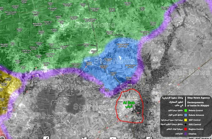 Первыми гонку к Аль-Баб выиграли FSA при поддержке Турции