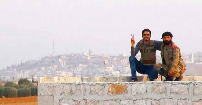 Расстановка сил в районе города Аль-Баб, Северный Алеппо, Сирия