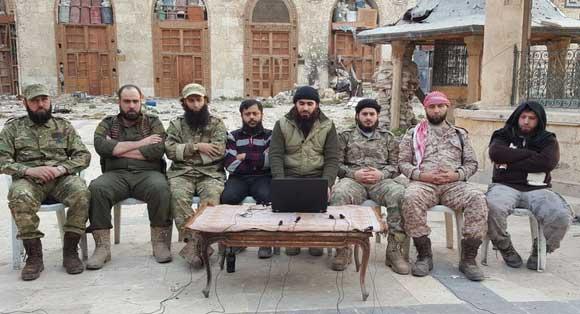 Единый штаб оппозиции в Алеппо