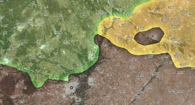 Наступление на Аль-Баб.. курды из кантона Кобани-Хасака, начали наступления
