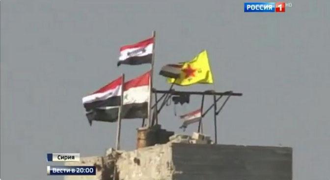 Наступления Асадистов,SDF и ВКС РФ в городе Алеппо