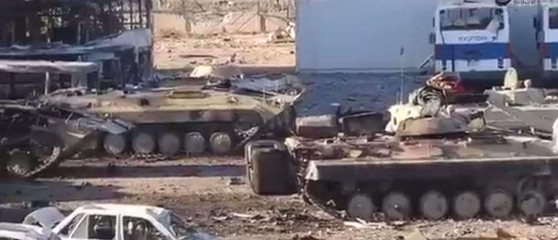 Неудачная попытка иракских войск продвинуться внутрь кварталов города Мосул, Ирак