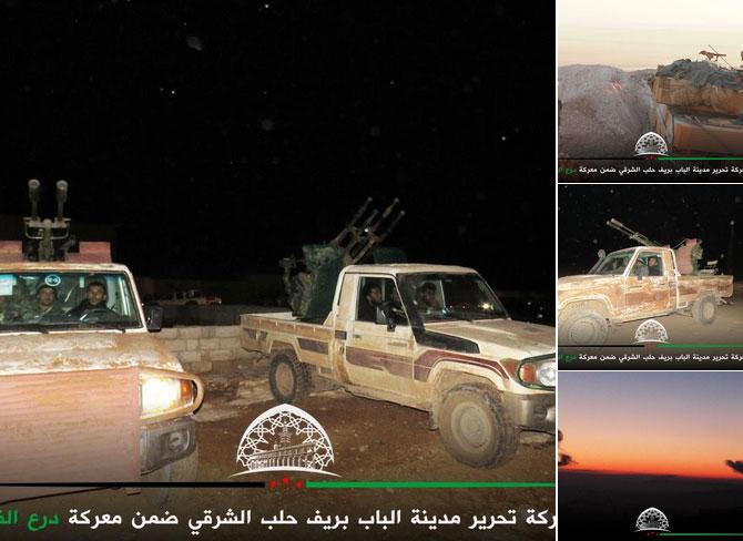 FSA и Турция анонсировали начало штурма города Аль-Баб, провинция Алеппо, Сирия