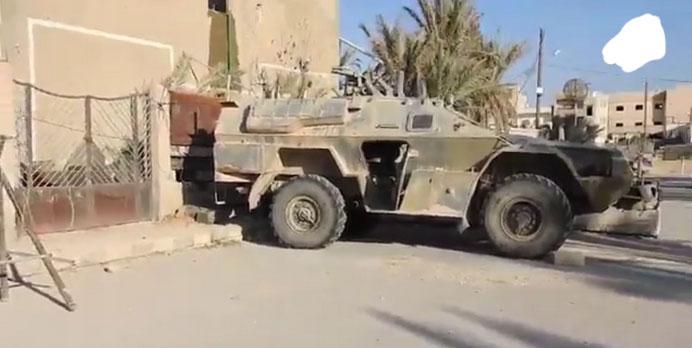 Пальмира: захваченная техника, перешедшая к террористам