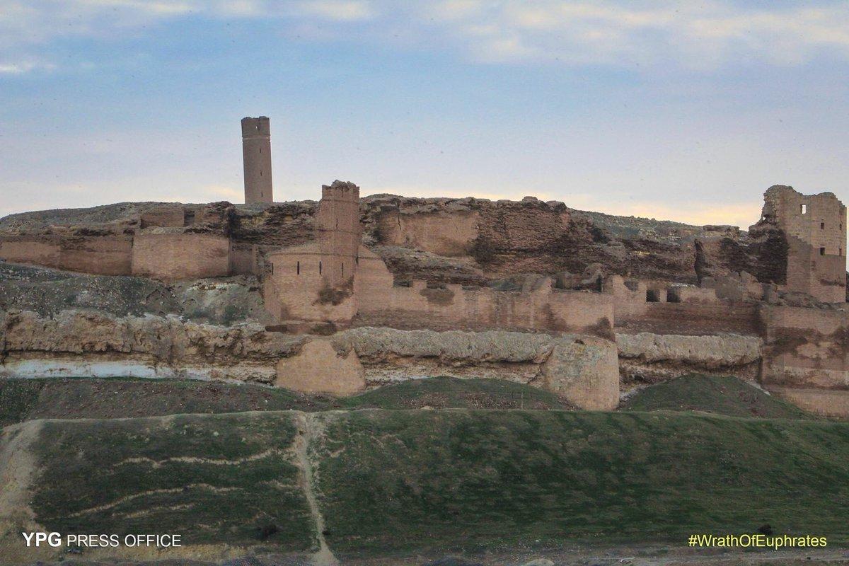 SDF захватила крепость Jabbar, Сирия.