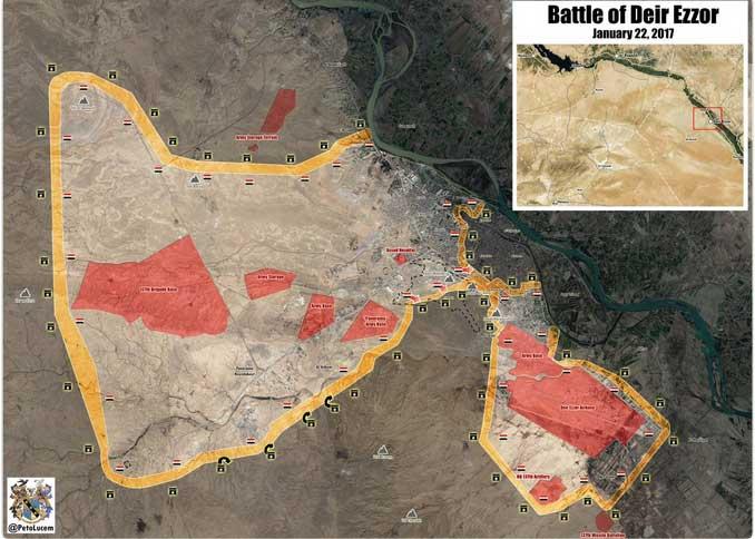 Карта Асадистов, но мне сомнительно, что они имеют хоть какой то сообщения между двумя анклавами...