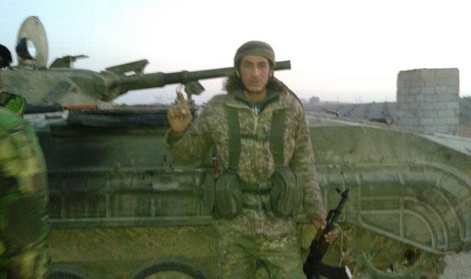 БМП захваченный FSA у Асадистов, в близи города Аль-Баб