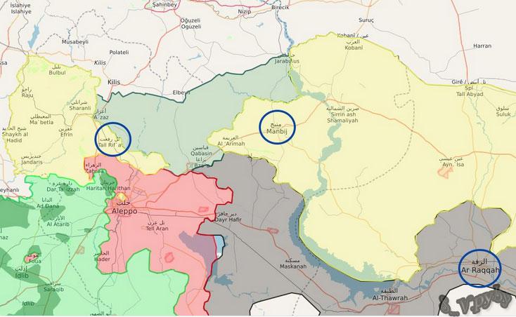 Возможные направления наступления Турции и оппозиции в Сирии