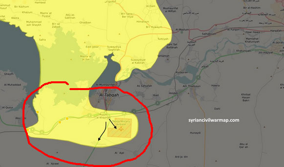 Авиабаза Табка в руках США и прозападной коалиции курдов