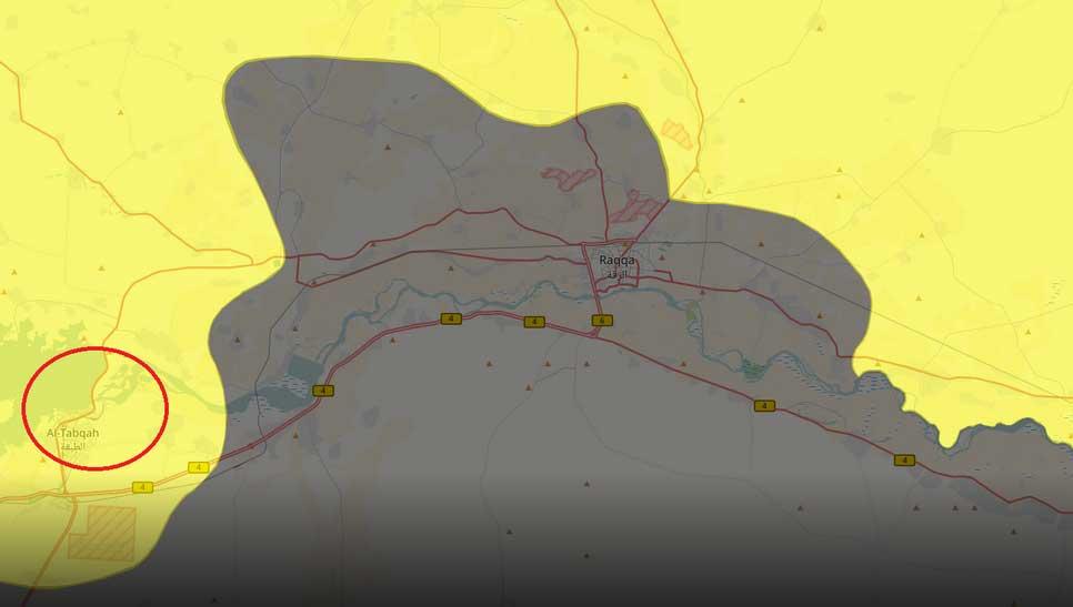 Вслед за городам SDF захватили плотину Аль-Табка, на берегу реки Евфрат