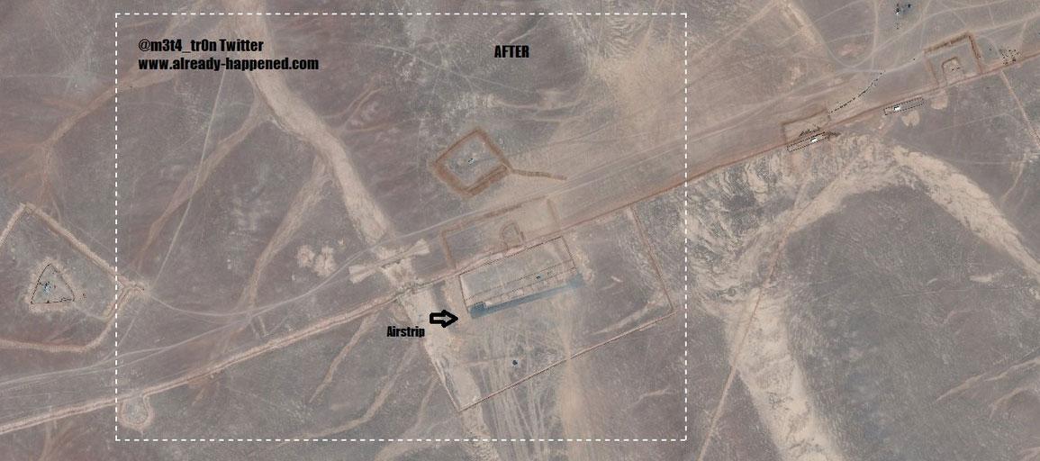 Аль-Танф, военная база США в Южной Сирии