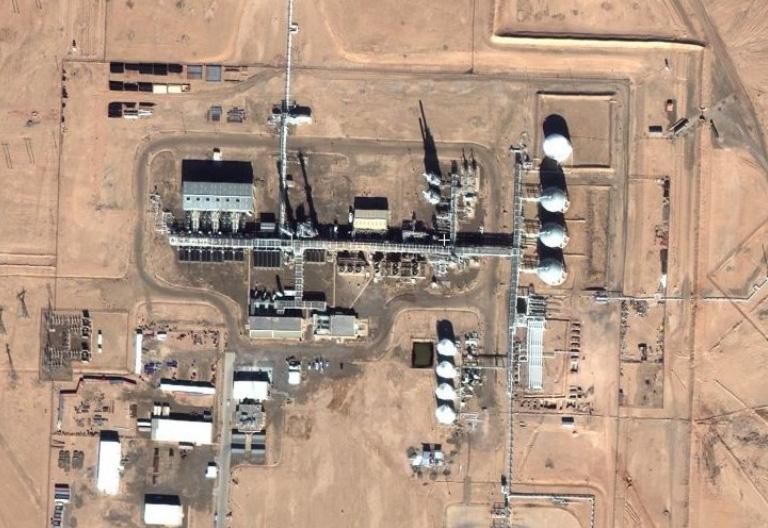 SDF захватил завод газовый завод Conoco