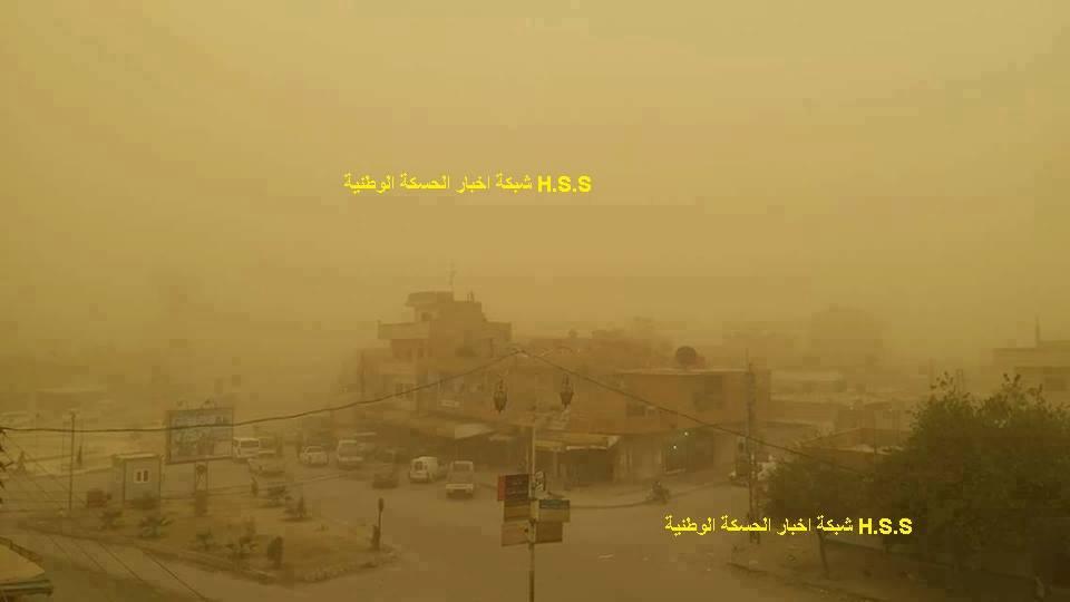 Пылевая буря Дейр-аз-Зор