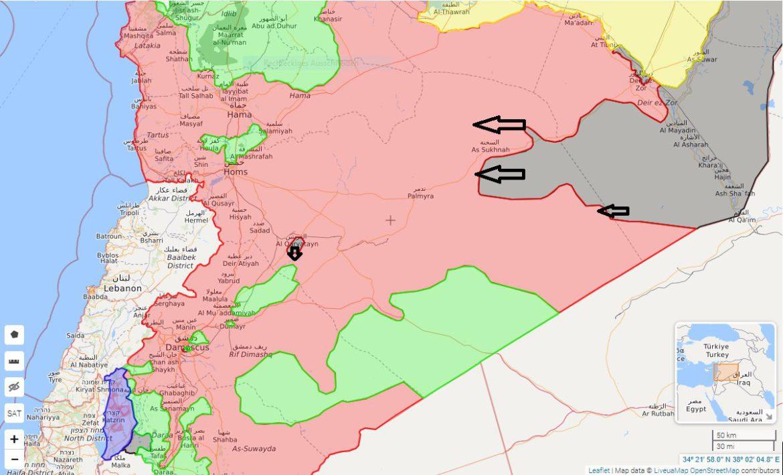 Обстановка на фронтах 04.10.2017 - наступление боевиков в Сирии