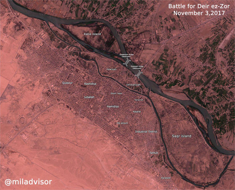 Город Дейр-аз-Зор - под полным контролем Асада