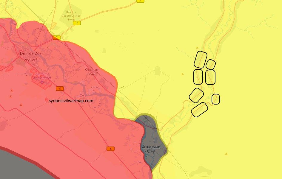 SDF продолжает ликвидировать анклавы с окруженными боевиками в провинции Дейр-аз-Зор