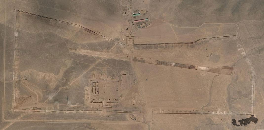 Военно-воздушная база США в провинции Аль-Хасака, Сирия
