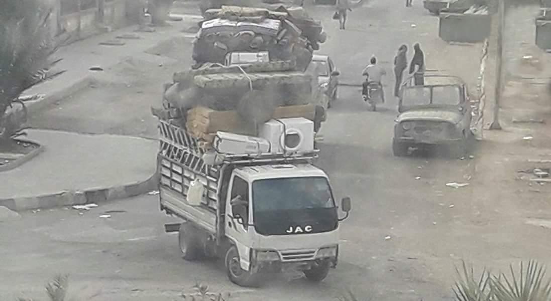 Силы Асада освобождают город Дейр-аз-Зор от излишков покинувших его жителей