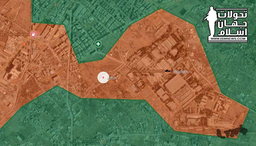 По последний информация недельная осада прорвана силами Асада, пока это не точно.